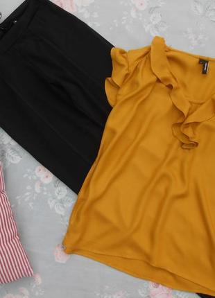 Красивый комплект из брючек и блузки  36 размер