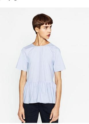 Туника футболка блуза оверсайз в морском стиле  асос