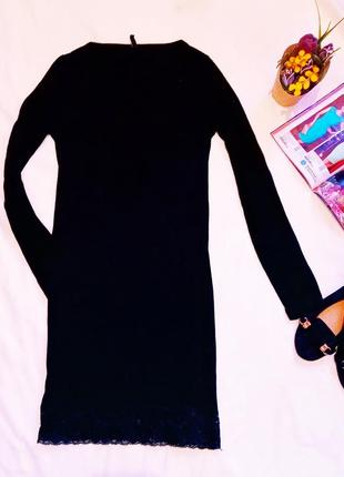 Классное платье с низу ажурное  фирмы b.young