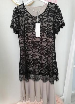 Очень красивое нежное платье размер м италия