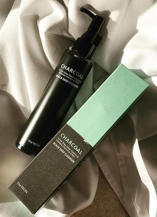 Гибридное гель-масло для глубокого очищения кожи the yeon 150 мл