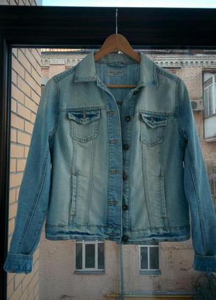 Джинсовая куртка new look