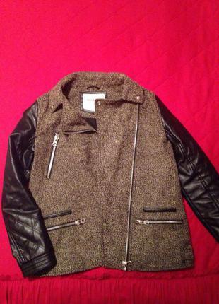Пальто pull and bear2