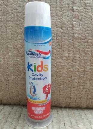 Зубная паста с 2х лет