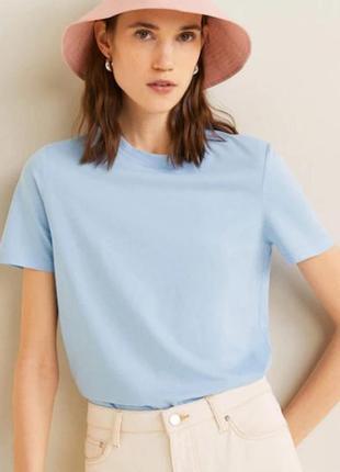 Базовые женские футболки  mango испания