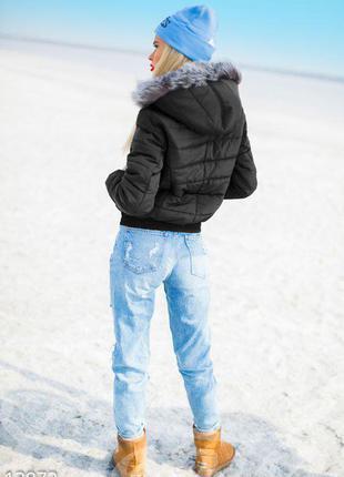 Зимняя пуховая куртка adidas (оригинал)3