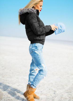 Зимняя пуховая куртка adidas (оригинал)5