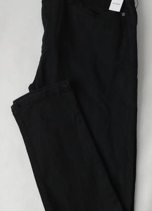 Черные джинсы denim co primark skinny w 36 l 34