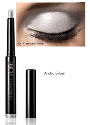 Стойкие тени-карандаш для век the one colour unlimited орифлейм код 31578 серебро