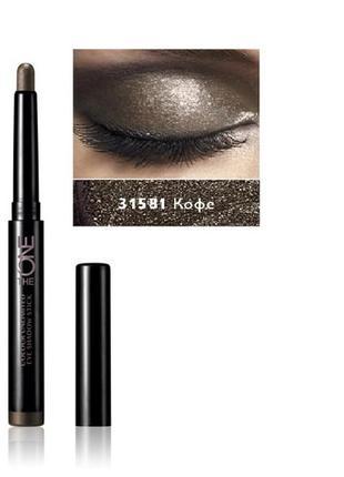 Стойкие тени-карандаш для век the one colour unlimited орифлейм код 31581 кофе