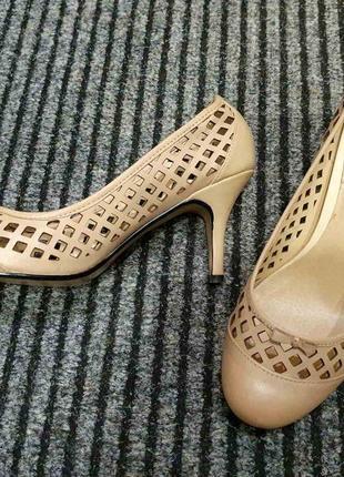 Кожаные туфли topshop😊