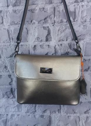 Кожаная женская сумка жіноча шкіряна сумка клатч кожаный шкіряний