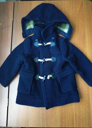Стильне і тепле пальто zara, 18-24 міс. в хорошому стані