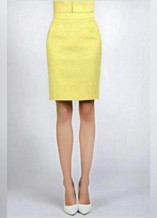 Желтая юбка love republic