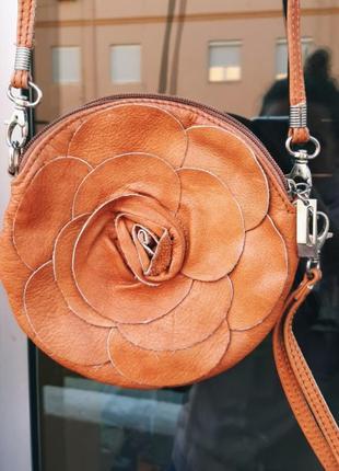 Кожаная итальянская сумочка