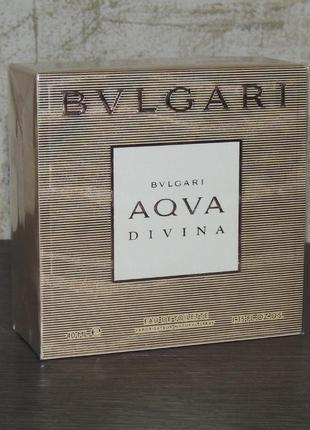 Bvlgari aqva divina 40 мл для женщин оригинал