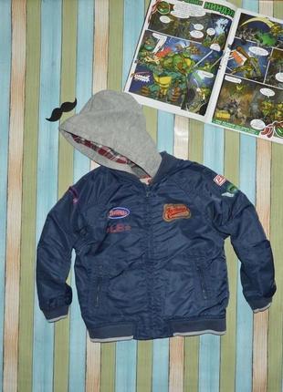 Ветровка куртка бомбер для мальчика 3-4 года