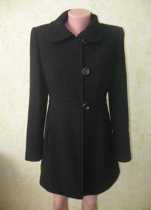 Стильное пальто шерстяное