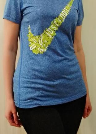 Брендовая футболка nike. оригинал.2 фото