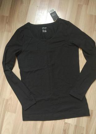 Чорный базовый реглан кофта esmara