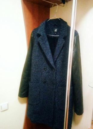 Пальто с добавлением шерсти