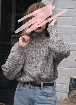 Oversize свитер h&m