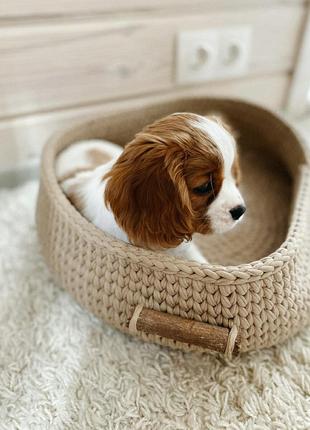 Лежак, лежанка, лукошко для домашних животных