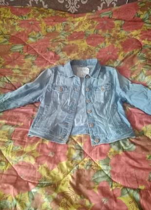 Джинсовый пиджачек