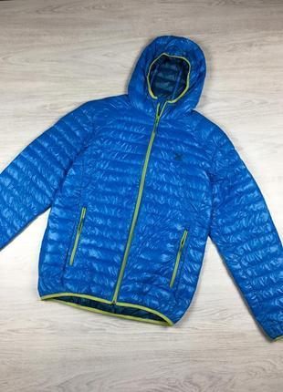 Фирменная крутая курткая пуховая куртка salewa пуховик mammut tnf!