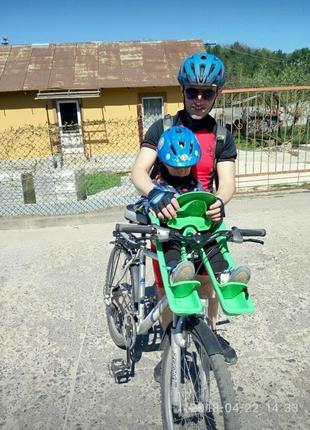 Детское велокресло переднево крепления ibert