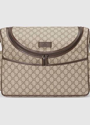 Сумка gucci, сумка для мам , gg monogram supreme
