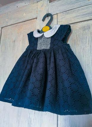 Платье для маленькой леди 1-3 месяцев