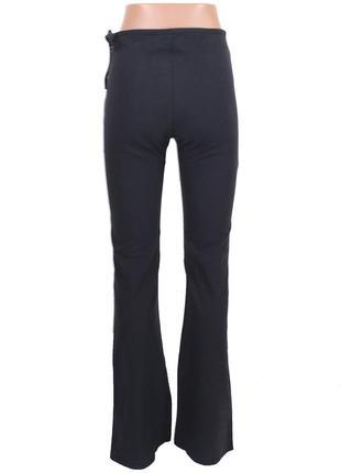 Черные стрейчевые брюки2 фото
