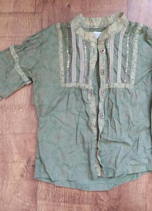 Модная детская рубашка для девочек