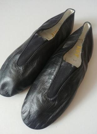 Bloch джазовки туфли танцевальные кожаные чешки
