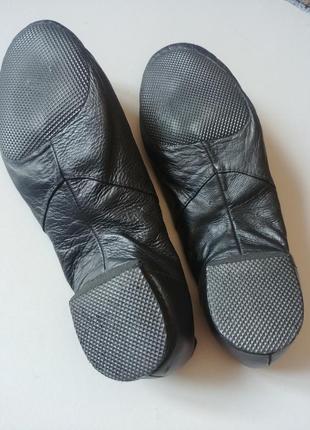 Bloch джазовки 21см  туфли танцевальные кожаные чешки3 фото
