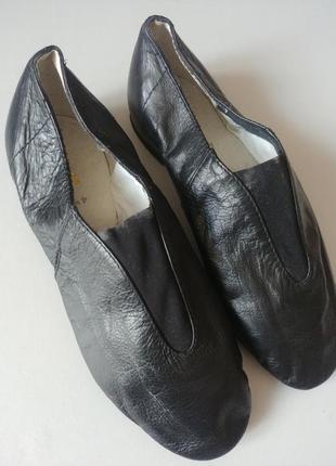 Bloch джазовки 21см  туфли танцевальные кожаные чешки2 фото