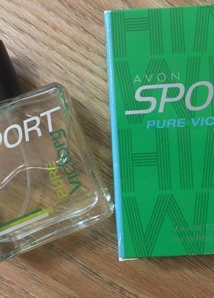 Туалетная вода avon sport pure victory, 50 мл