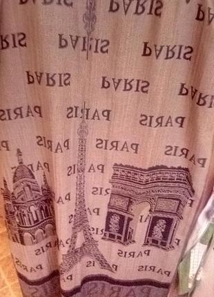 Палантин шарф двухсторонний вискоза унисекс6 фото