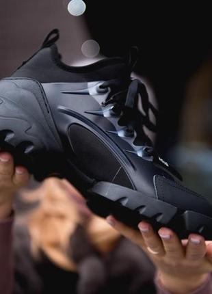 Chiristian dior d-connect black чёрыне ⭕ женские кроссовки ⭕ наложенный платёж