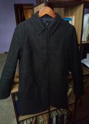Зимнее пальто . пальто бойфренд . модное пальто