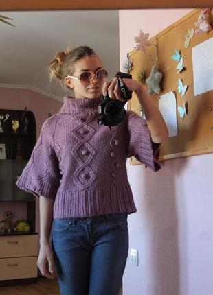 Стильный свитер miss e-vie