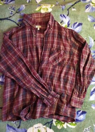 Рубашка в клетку easy authentic