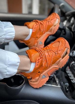 Кросівки calvin klein orange  кроссовки