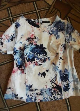 Приталенная блуза, р.14
