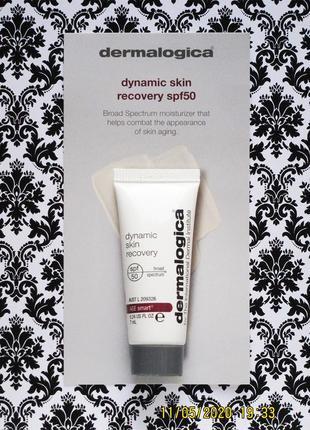 Активный укрепляющий дневной крем spf 50 dermalogica dynamic skin recovery