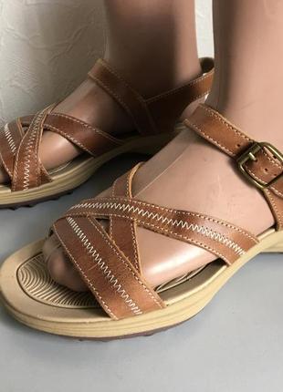 Кожаные сандалии, сандали треккинговые, спортивные сандалии  lands end