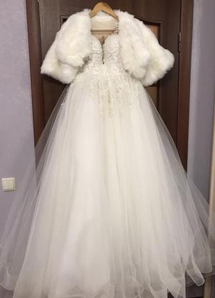 Свадебное платье/ ivori./ платье мечты
