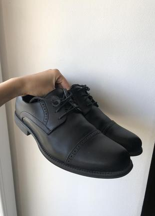 Туфли/ботинки мужские кожаные