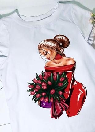 Стильная модная футболка вс-66